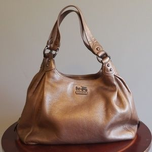 Bronze Coach bag